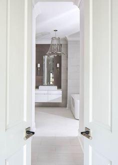 Luxury Master Bathrooms, Interior Design Photography, Powder Room Design, Bathroom Design Inspiration, Beautiful Interior Design, Design Firms, Interior Lighting, Design Projects, Furniture Design