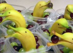 Kids will love these mini DOLPHIN SNACKS! Great for a Mermaid Party, Under Water Party or Beach Party. Check out these other healthy snack ideas too: http://www.under5s.co.nz/results.html?q=healthy+snack+ideas&ppp=1000