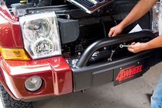 jeep commander shovel brackets - Google Search