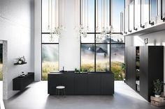 Home - TuijpsHuysch Dream Kitchen, Black Kitchens, Interior, Beautiful Interiors, House Inspiration, Home Decor, Kitchen Fittings, Furniture Inspiration, Dark Kitchen