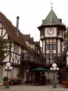 A very nice photo of Solvang, California by e-vlad