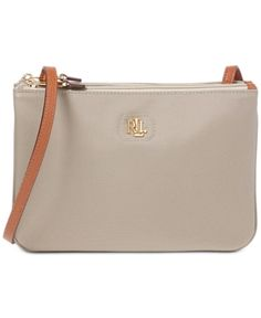 58071052bc Lauren Ralph Lauren Bainbridge Tara Crossbody - Khaki Me Bag