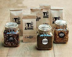 Coffee | pd package design box bag jar tin coffee tea cafe food vintage type take away