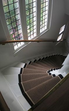 mooi Interior Design Living Room, Living Room Designs, Stairs Covering, Big Doors, Glass Stairs, Carpet Stairs, Staircase Design, Stairways, My Dream Home
