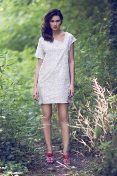 SS15 collection by MuMu organic Donousa dress - 100% organic cotton