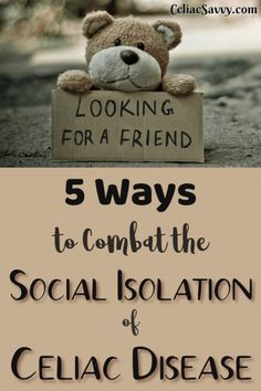 Have you experienced social isolation since you've discovered you have celiac disease or non-celiac gluten sensitivity? Gluten Free Snacks, Gluten Free Diet, Celiac Disease Symptoms, Gluten Free Restaurants, Getting Hungry, Food Journal, People Talk, Social Events, Sensitivity