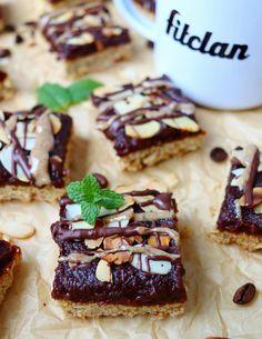 Božské mandľovo-kávové rezy s pomerne nízkym množstvom kalórií (Recept) - Fitclan