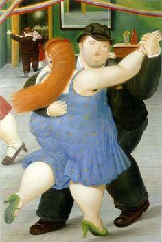 Dancers Art Poster Print by Fernando Botero, Diego Rivera, Frida Diego, Art Carte, Fat Art, Poster S, Print Poster, Fat Women, Naive Art, Just Dance
