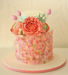 cupcake d'lights {South Africa}: delicate floral cake one