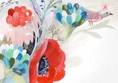 Isabelle Arsenault.  http://www.isabellearsenault.com/