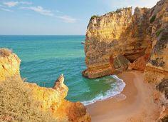 praia do pinhao #lagos #algarve #portugal #beach