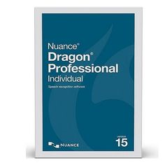 Nuance K809A-F00-15.0 Dragon Professional Individual Academic Version 15 Speech Recognition Software