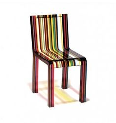 Patrick Norguet, Cappellini, Rainbow chair - live on LiveAuctioneers 26/06/2014 - check the catalogue http://www.liveauctioneers.com/catalog/56721_italian-design-and-decorative-arts-of-xx-c/page5?rows=20