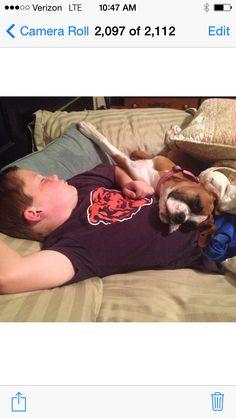 Sleeping buddies. :)