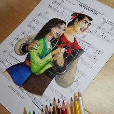 Reflection  #reflection #Mulan #disneymulan #disneymusic #shang #famulan… Disney Fanatic, Disney Nerd, Disney Addict, Disney Fan Art, Disney Girls, Disney Love, Disney Stuff, Disney Princess Quotes, Disney Songs