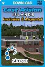 East Frisian Islands Airports (FSX+P3D) - 5 Airport Sceneries for $27.99 - A bargain! Come and take a look.