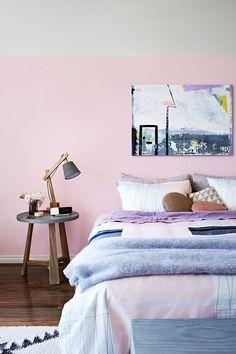 Eén slaapkamer: twee verschillende kleuren Roomed | roomed.nl
