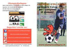 Copertina e Retro brochure Olympic Collegno 2012-13