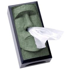 I would love to have a tissue box like that.