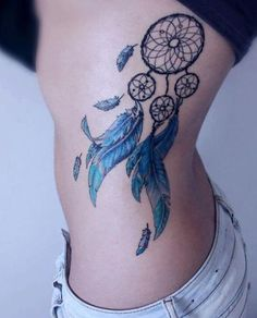 WOW! Who cant say Dream Catchers arent adorable! Why not catch your dreams with a cute dream catcher tattoo! #CatchYourDreams