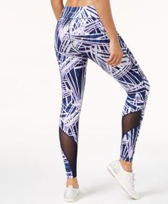 dbf4487344 Calvin Klein Performance Radiant Printed High-Waist Leggings - Orange XXL  Women s Leggings