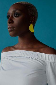 Singer Laura Mvula for ES Magazine.