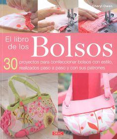 El libro de los bolsos Sewing Magazines, Diy Bags Purses, Unique Purses, Sewing Material, Beautiful Handbags, Purse Patterns, Fabric Bags, Dress For Success, Couture