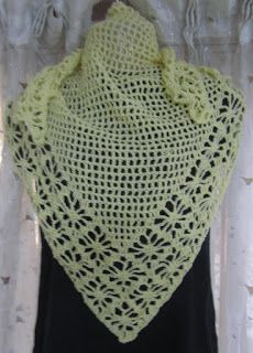 Sweet Nothings Crochet: LATTICED SPIDER SHAWL