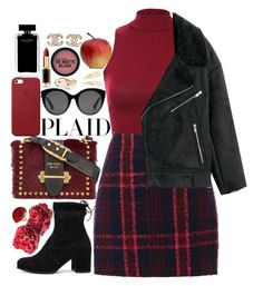 """""""❤"""" by polinachaban ❤ liked on Polyvore featuring Pilot, Oasis, Stuart Weitzman, Prada, Ippolita, Apple, Gucci, L'Oréal Paris, Narciso Rodriguez and Kitsch"""