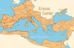 A map of the Ancient Roman empire. Ap World History, History Facts, European History, American History, Ancient Rome, Ancient History, Ancient Aliens, Ancient Greece, Roman Empire Map