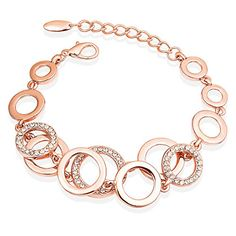"Black Friday Sale Fancydeli® Christmas Gifts ""Love Under the Stars"" Fashion Jewelry Rose Gold Plated Women Circle Bracelet with Austrian Crystals Best Gifts for Women FANCYDELI http://www.amazon.com/dp/B00SHK5T2Y/ref=cm_sw_r_pi_dp_DAXCwb051EXNV"