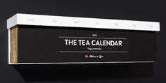 teacalendar feeldesain #calendar #tea #packaging http://www.feeldesain.com/the-tea-calendar-halssen-lyon.html