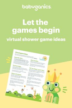 Who says you can't play games at a virtual baby shower? Classic games can easily go digital with some simple tweaks. Check out these five ideas.     #virtualbabyshower #virtualshower #babyshower #momhacks #babyganics T Play, Games To Play, Best Indoor Hanging Plants, Virtual Baby Shower, Baby Layette, Baby Bottles, Hush Hush, Baby Shower Games, Baby Care