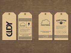 Cloudy Clothing | Hang Tag
