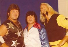 Southern Wrestling icons Jerry Lawler, Bill Dundee, and Jimmy Valiant...