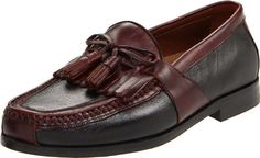 Johnston & Murphy Men's Aragon II Slip-on Loafer,Black/Brown,10.5 N