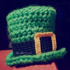 Baby Leprechaun Hat - St Patrick's Day - newborn pattern now available!