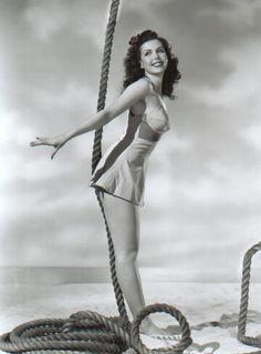 dancer/actress Ann Miller 1940s
