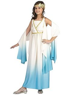 Girls Greek Goddess Costume