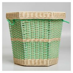 This beautifully crafted large storage basket by The Rocking Company puts the fun into functional.