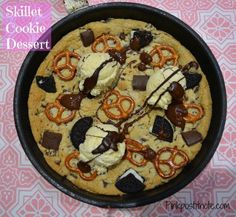 Love Chocolate, Chocolate Desserts, Easy Desserts, Delicious Desserts, Quick Cookies, Skillet Cookie, Lunch Box Recipes, Chocolate Chip Cookie Dough, Cookies Et Biscuits