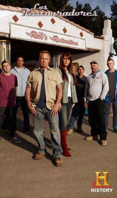 Tyler, Ron, Rick, Kelly, Kyle, Kowboy y Brettly, un equipo difícil de igualar.