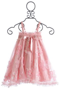 Luna Luna Copenhagen Pink Fleur Little Girls Dress