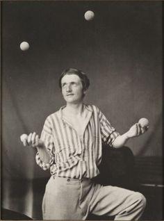 "ca. 1865, ""The Juggler"", Oscar Gustav Rejlander via the National Media Museum, Royal Photographic Society"