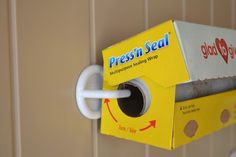 Hang your rolls onto your pantry door with plastic hooks....