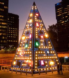 If It's Hip, It's Here: From Pac Man To Porcelain, Five of The Most Spectacular and Unusual Christmas Trees From All Over The World.