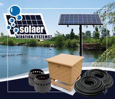 Solar Powered Pond Aerator | Pond Aeration Systems | Absolute Aquatics