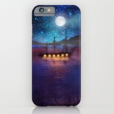 The lights and the Silent Water phone cases by Viviana Gonzalez #iphone6 #phonecases