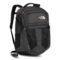The North Face Recon Daypack. Mine is red. I hope it lasts a really long time. I don't like the new, much smaller version and I won't buy it. North Face Bag, North Face Women, North Face Backpack, Black Backpack, Backpack Bags, Fashion Backpack, The North Face, Gold Backpacks, Cute Backpacks