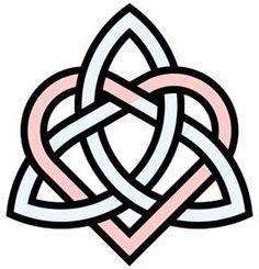 Celtic knot of sisterhood.